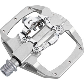 KCNC FR Trap Clipless Pedals Dual Side silver